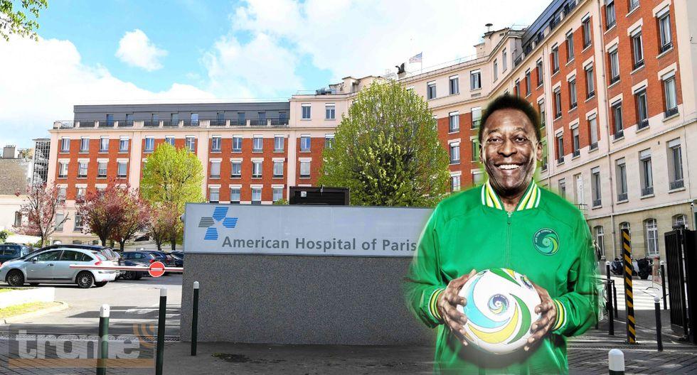 Pelé fue hospitalizado en Francia y médicos revelan su situación