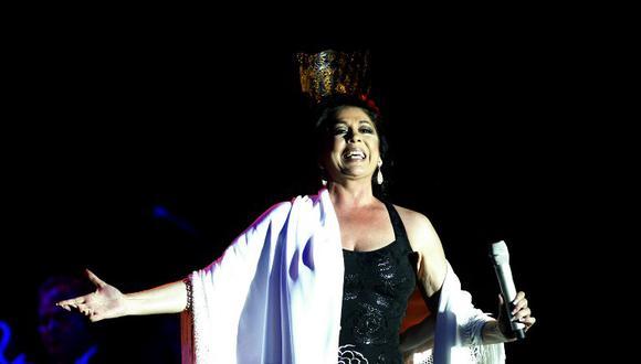 Isabel Pantoja anuncia su disco 41 de su carrera. (Foto: AFP)