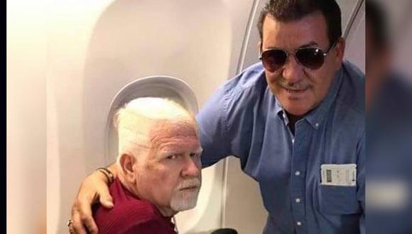 Los legendarios salseros Tito Rojas y el Cano Estremera compartieron muchos viajes. (Tito Rojas Instagram)