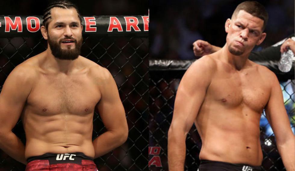 Jorge Masvidal vs. Nate Díaz, la pelea que todos los fans quieren ver. (Redes sociales)