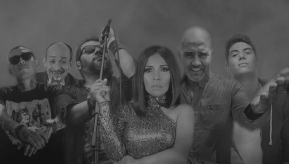 """Susan Ochoa se unió a diversos artistas nacionales para lanzar el tema """"Yo quiero vivir en el Perú"""". (Foto: Piensa Música)"""