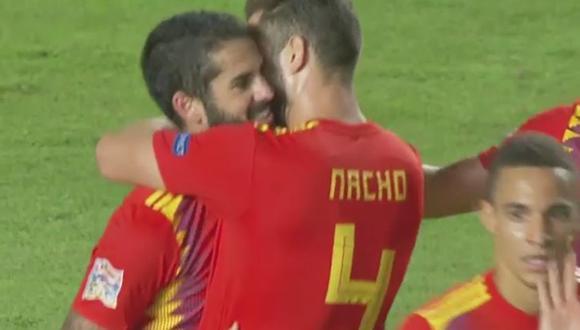 Gol 6 de España
