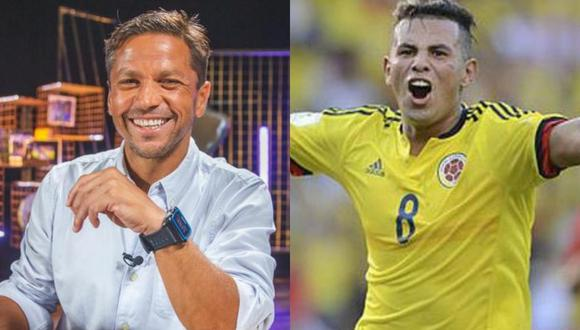 """Pedro García le mandó su """"chiquita"""" a Edwin Cardona, de Colombia."""