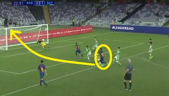 Barcelona: Lamine Nasraoui, lo llaman el 'clon de Messi', el niño de la cantera azulgrana que deslumbra al mundo VIDEO