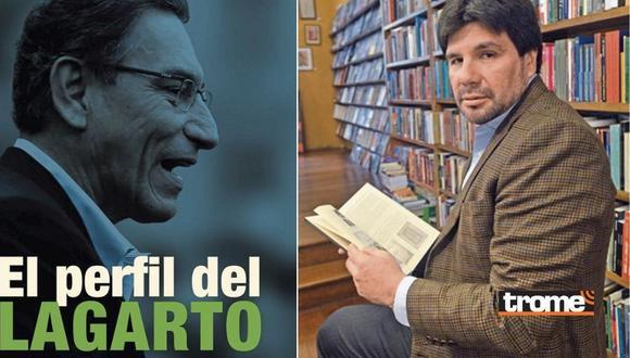 Carlos Paredes da detalles de su libro 'El perfil del Lagarto'