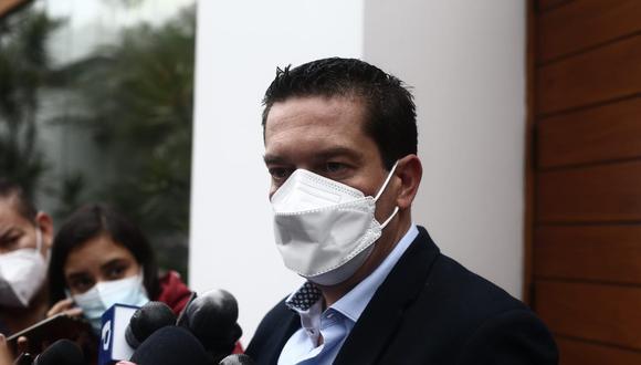 El exparlamentario Miguel Torres se pronunció respecto a la confirmación del presidente Francisco Sagasti con Mario Vargas Llosa. (Foto: Jesús Saucedo/@photo.gec)