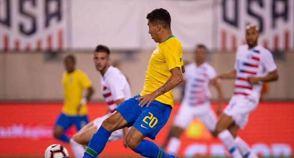 Brasil vs Estados Unidos: Partido amistoso FIFA en New Jersey