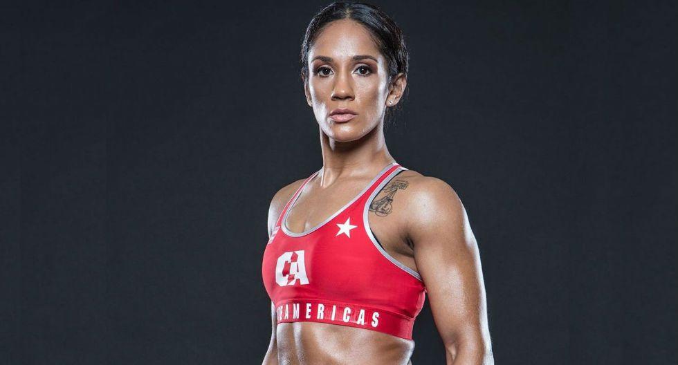 Amanda Serrano también incursionó en las MMA. (Foto: Combate Américas)