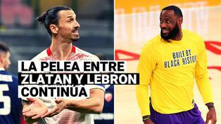 Estrellas de la NBA salen en defensa de LeBron y atacan a Zlatan Ibrahimovic