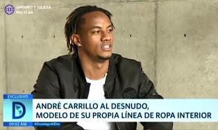 """André Carrillo y su faceta de padre: """"No tengo problemas en limpiar pañales"""""""
