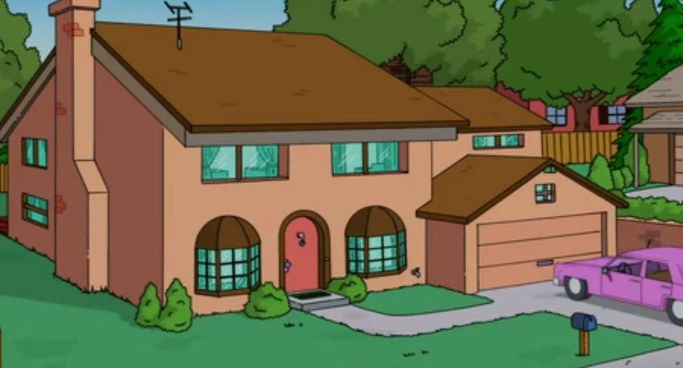 ¡Interesante! Usuarios encuentran la verdadera casa de Los Simpson en Google Maps y no creerás cómo luce. (Foto: Fox)