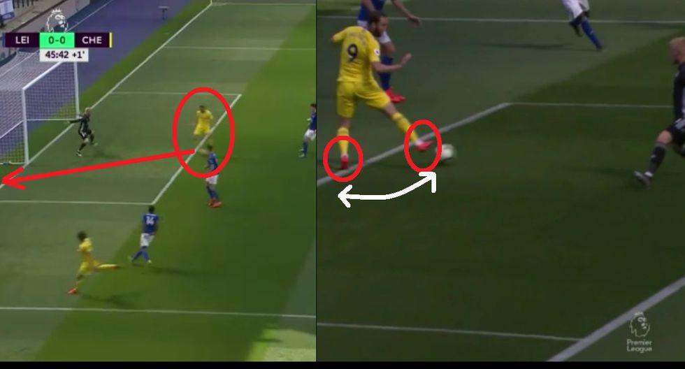 Gonzalo Pipita Higuaín falló gol épico e hizo ridículo: Taco con un pie y auto-marca con el otro
