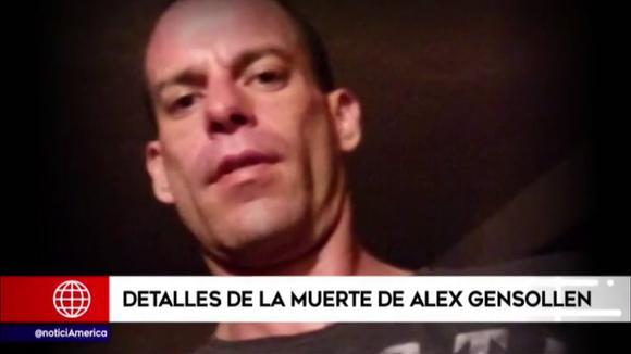 Caso Alex Gensollen: Estos son los detalles de su muerte en el Real Plaza