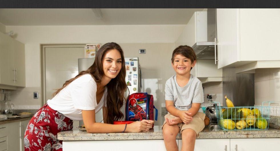 Natalie recomienda a todos los papás y mamás que dediquen un momento especial de cada día a sus hijos. 'Ya sea a la hora de hacerlos dormir o al preparar las loncheras, para que los niños se sientan queridos', remarca.