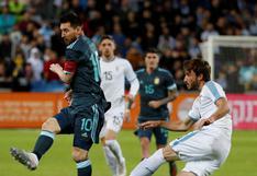Argentina y Uruguay igualaron 1-1 con goles de Lionel Messi y Luis Suárez en amistoso por fecha FIFA [VIDEO]