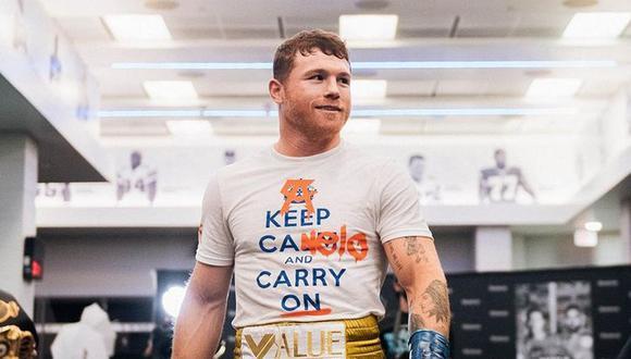 Nacido bajo el nombre de Santos Saúl Alvarez Barragán, el boxeador es originario de Guadalajara (Foto: Canelo Álvarez / Instagram)
