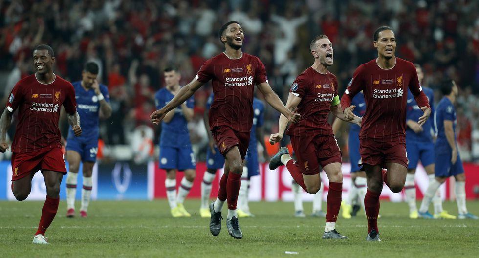 Liverpool es campeón de la Supercopa de Europa tras vencer Chelsea en los penales
