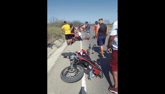 Tumbes: el herido fue auxiliado y trasladado al centro de salud de Zarumilla, luego derivado al hospital José Alfredo Mendoza Olavarría.