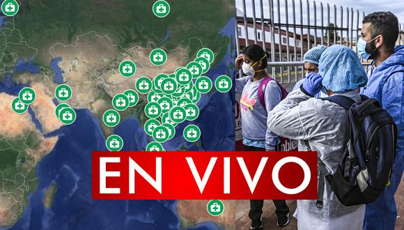 Conoce el mapa de los casos curados por coronavirus en Google Maps. Sigue minuto a minuto y en vivo la tendencia de las personas que superaron el covid-19. (Foto: AFP)