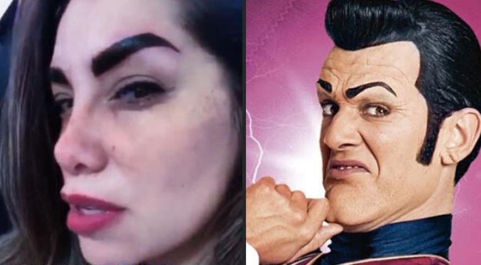 Grace Becerra es comparada con Robbie Rotten