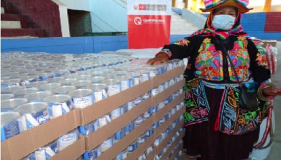Puno: Qali Warma entregó 646.7 toneladas de alimentos para 63 mil 219 personas (Foto: Qali Warma)
