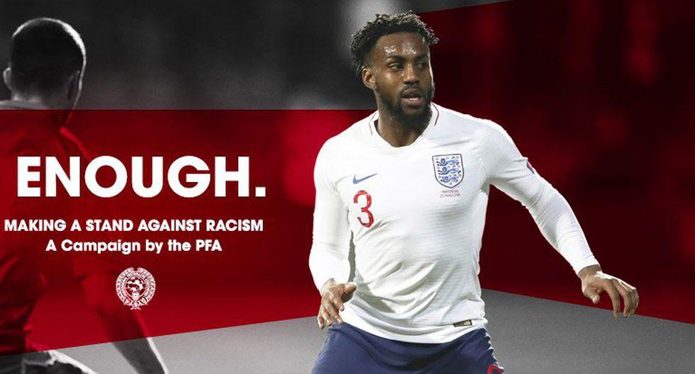 Los jugadores de la Premier League de Inglaterra iniciarán esta campaña contra el racismo. (Foto: Twitter PFA)