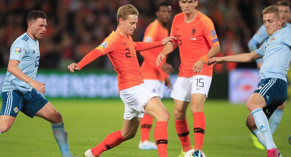 Holanda vs. Irlanda: Partido por las Eliminatorias Eurocopa 2020