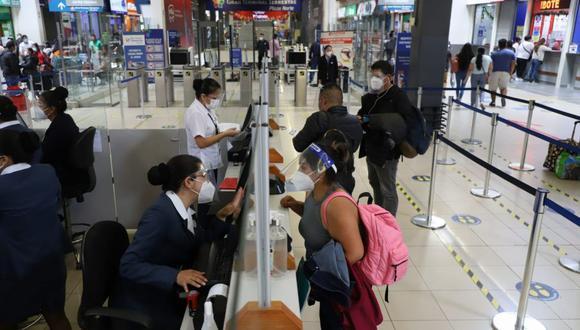 Terminal terrestre de Plaza Norte. Foto: Eduardo Cavero/ @photo.gec