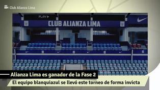 Alianza Lima en la final: así le fue en la Fase 2 de la Liga 1
