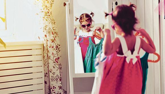 Los niños pueden elegir su ropa libremente