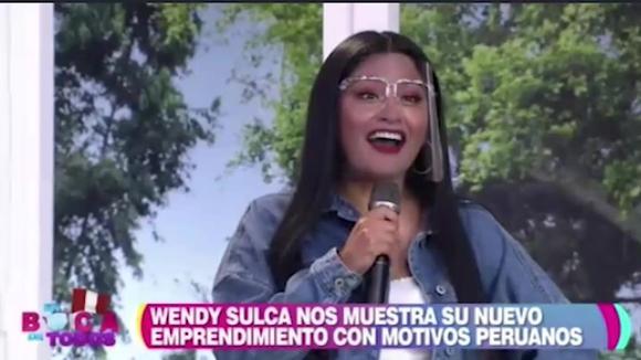 Wendy Sulca confiesa que está en 'saliditas'