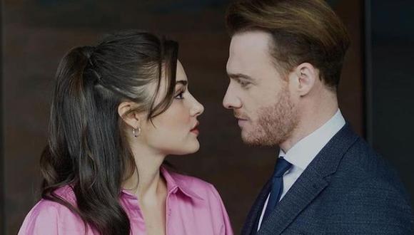 """La historia de amor entre Eda Yildiz y Serkan Bolat se pone cada vez más interesante en """"Love is in the air"""" (Foto: MF Yapım)"""