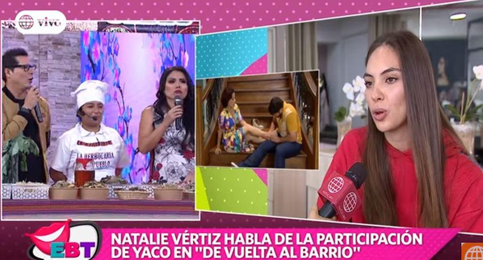 """Tula Rodríguez sobre sobre Natalie Vértiz: """"A mí no me parece muy bonita. Me parece media paliducha"""". (Capturas: En Boca de Todos)"""