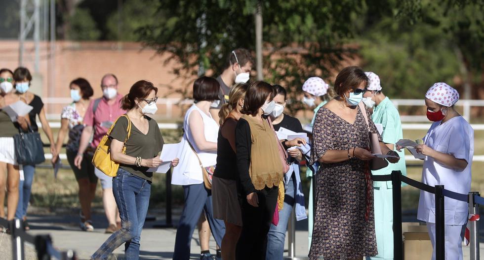 Imagen referencial. Según los datos del ministerio, en España se registraron 46 nuevas muertes desde ayer, con lo que el número total de defunciones asciende a 29.747. (Foto: EFE/Rodrigo Jiménez).