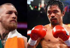 ¿Conor McGregor vs. Manny Pacquiao? Irlandés reveló que ya inició conversaciones con el equipo del campeón mundial