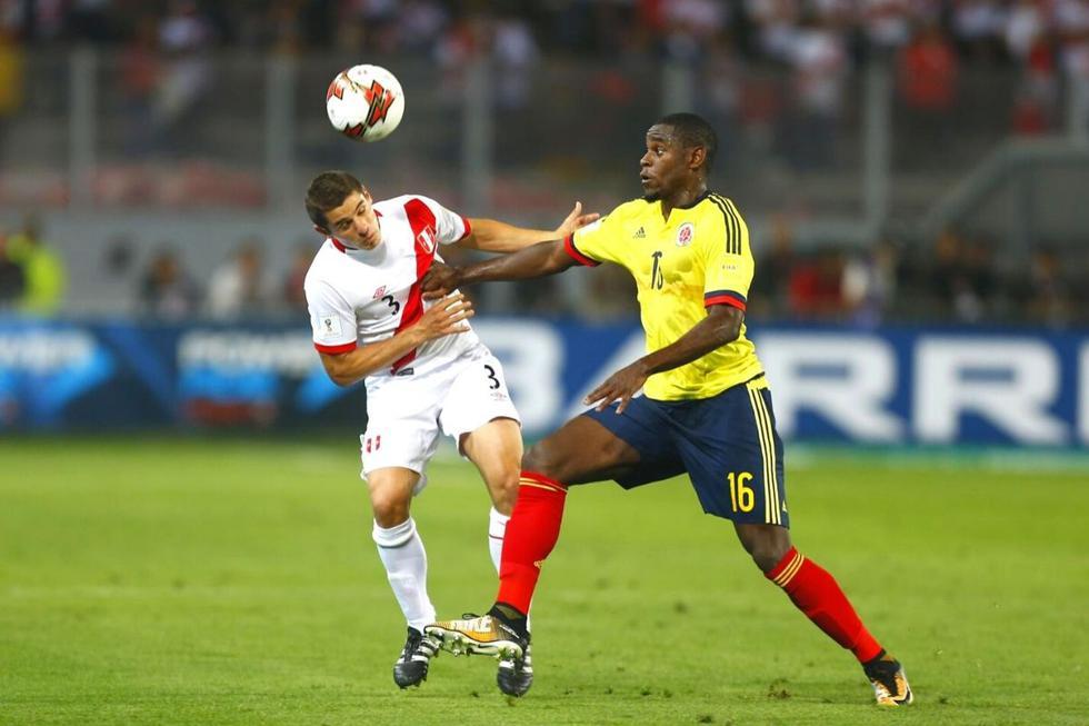 Perú vs Colombia  Selección de Colombia: Duván Zapata (Foto: GEC)