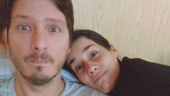 Cristian Rivero dedica romántico mensaje a Gianella Neyra. (Instagram)