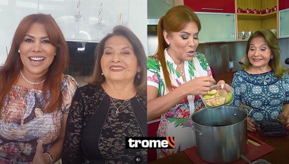 Magaly Medina presenta a su mami en redes sociales