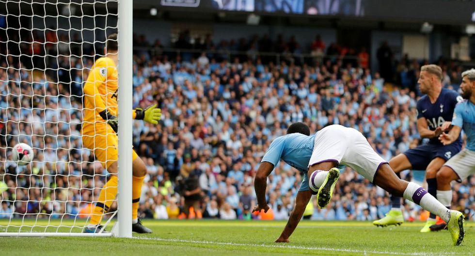 Manchester City vs Tottenham por la Premier League. (Fotos: Agencias)