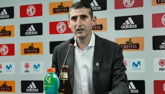 Juan José Luque, director general de Sporting Cristal