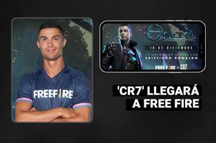 Garena Free Fire oficializa a Cristiano Ronaldo como nuevo personaje