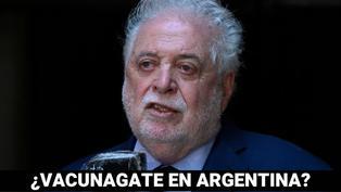 Escándalo en Argentina por vacunaciones VIP