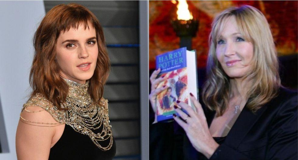 """Emma Watson y su emotivo saludo de cumpleaños a J.K. Rowling: """"Todo el amor para ti"""". (Foto: AFP)"""