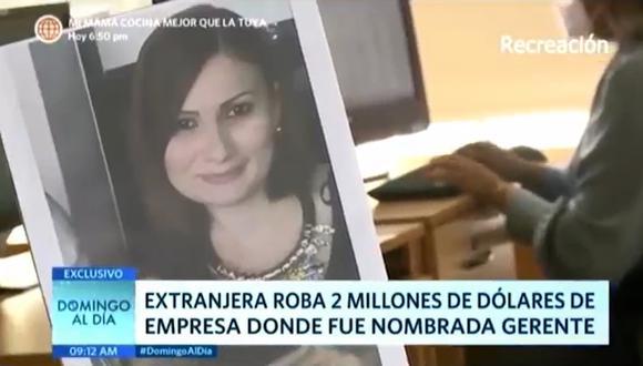 Iliana Ojeda ha sido denunciada penalmente por hurto agravado y fraude