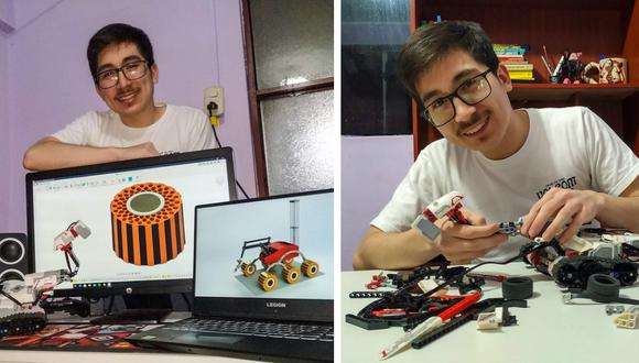 Estudiante construyó vehículo espacial