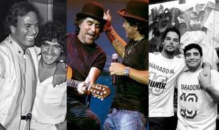 """Diego Maradona: Personajes del espectáculo le dicen """"adiós"""" al astro del fútbol"""