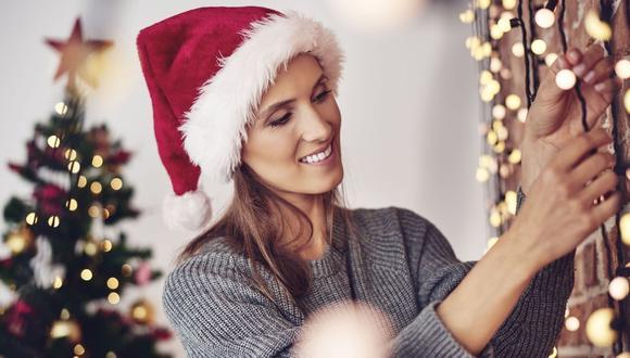 Luces navideñas: sepa cómo elegir las mejores e instalarlas sin riesgos. (Foto: Difusión)