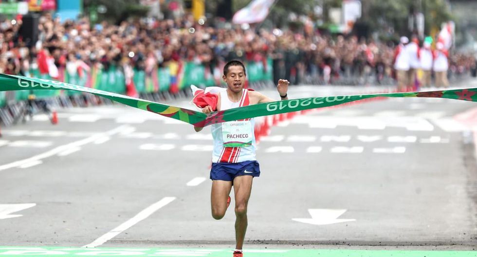 Christian Pacheco gana medalla de oro en Maratón de los Juegos Panamericanos Lima 2019. (Foto: Giancarlo Ávila)