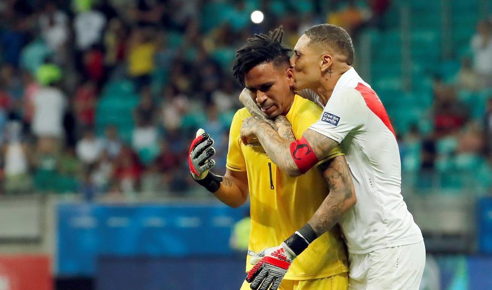 Paolo Guerrero reveló qué le dijo a Pedro Gallese antes de la tanda de penales que clasificó a Perú ante Uruguay