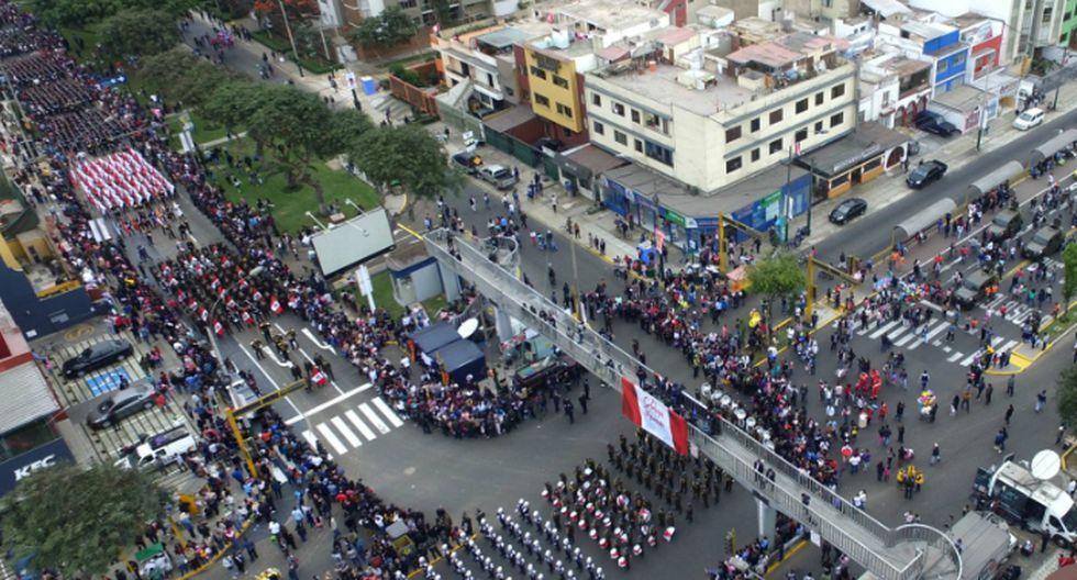 Todos los detalles de la Gran Parada y Desfile Militar por Fiestas Patrias. (Foto: Andina)